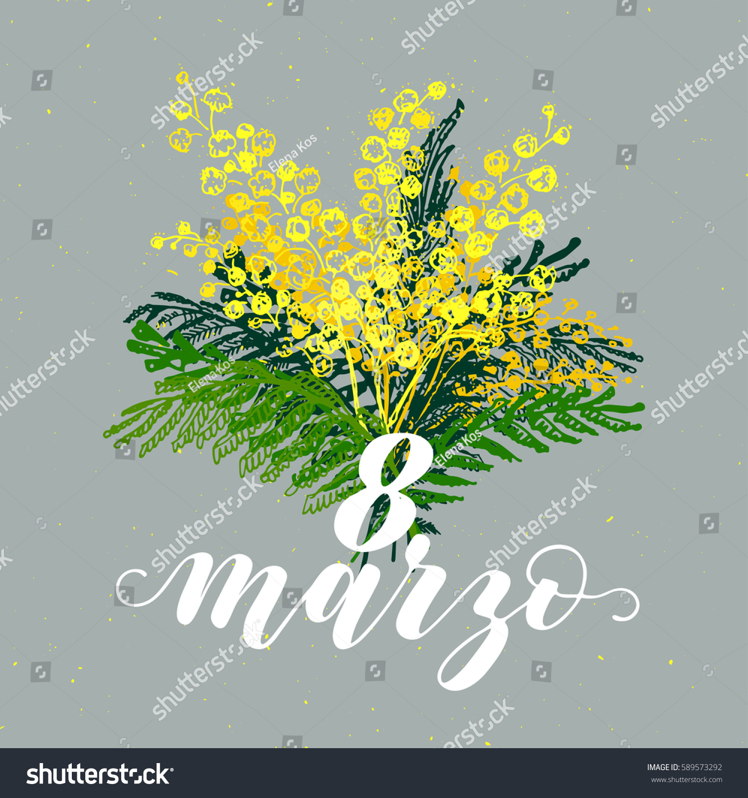 8 march greeting card italian language stock vector 589573292 8 march greeting card in italian language international womens day calligraphic hand written phrase kristyandbryce Images