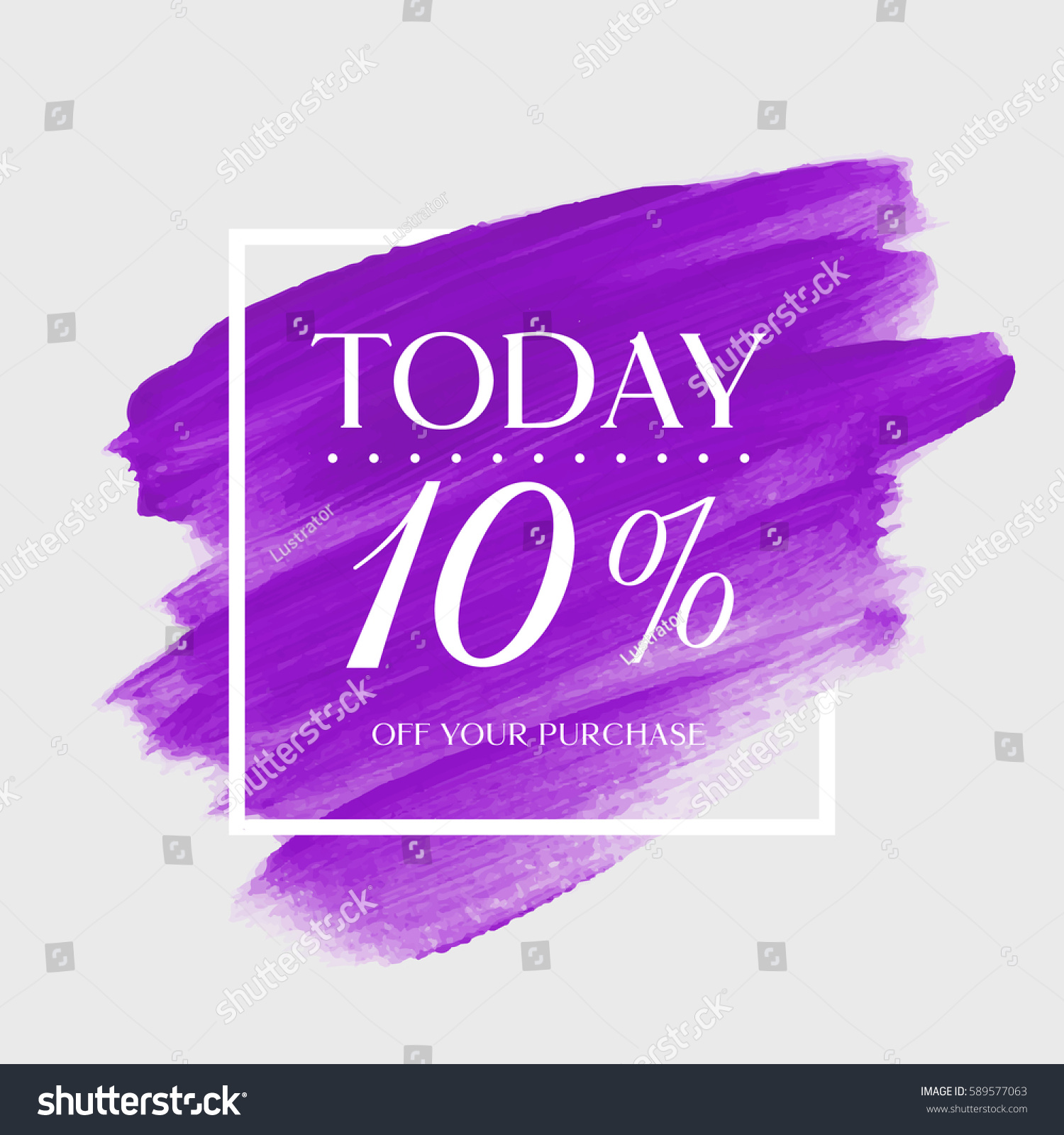 sale todays special 10 off sign stock vector 589577063 shutterstock