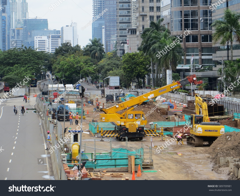 Jakarta Indonesia January 29 2017 Jakarta Stock Photo Edit Now
