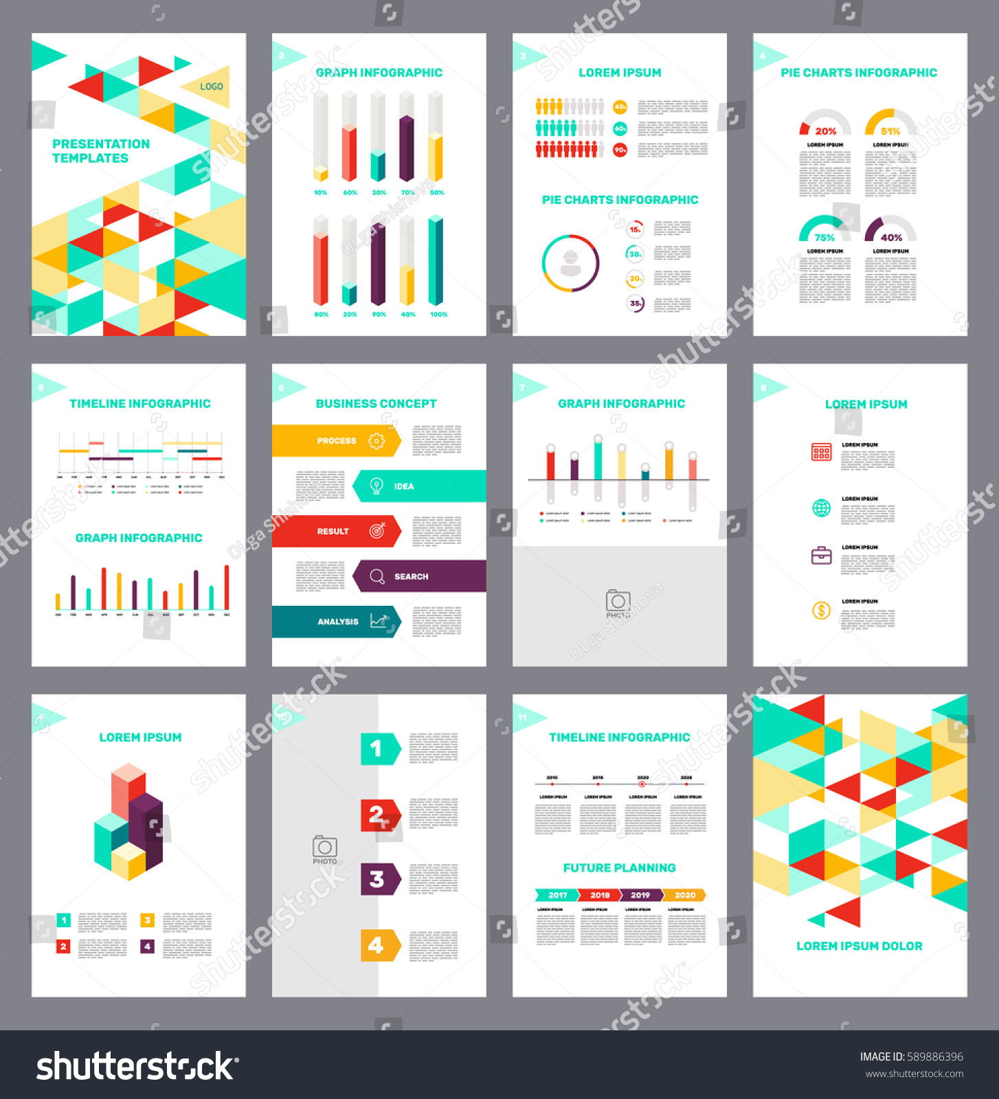 Page layout template presentation brochure annual stock vector page layout template for presentation and brochure annual report flyer and book page with maxwellsz