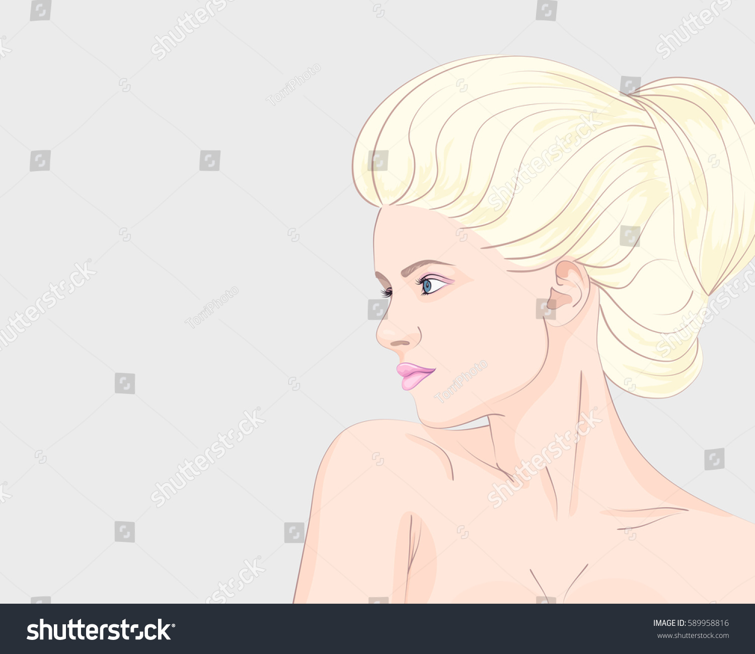 https://www.shutterstock.com/image-vector/beautiful-blonde-woman-bun-hairstyle-vector-589958816