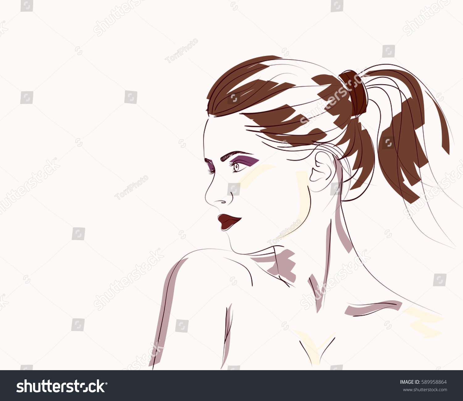https://www.shutterstock.com/image-vector/hand-drawn-fashion-portrait-young-woman-589958864