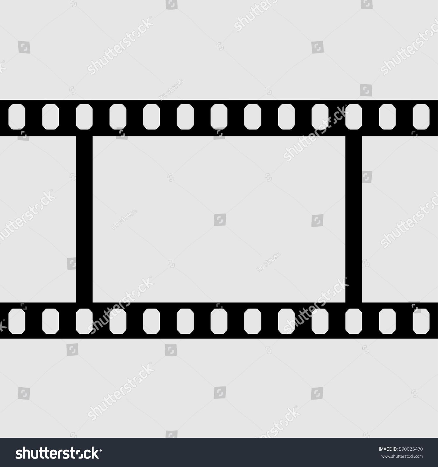 Eps 10 Vector Vintage Film Strip Stock Vector 590025470 - Shutterstock