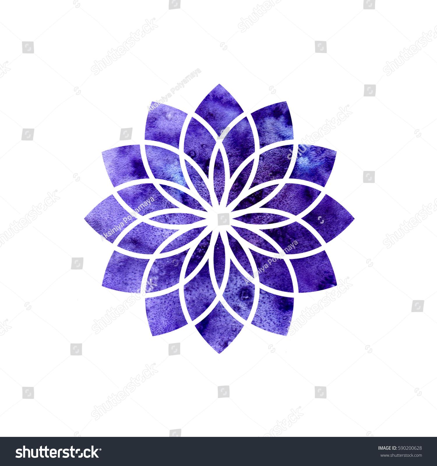 Sahasrara Chakra Sacred Geometry One Energy Stock