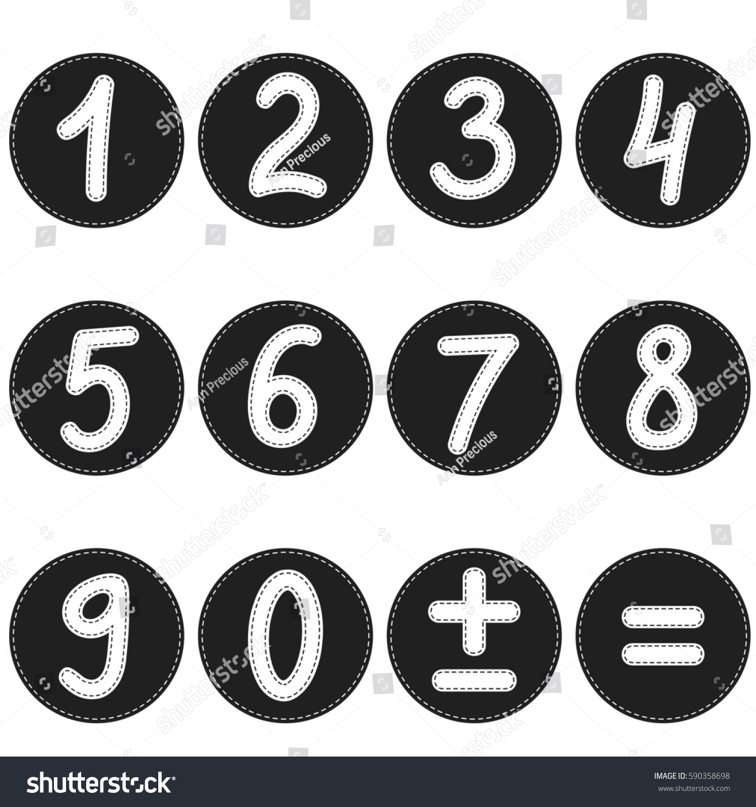 Black numbers math symbols on white stock illustration 590358698 black numbers and math symbols on white background raster version biocorpaavc Choice Image