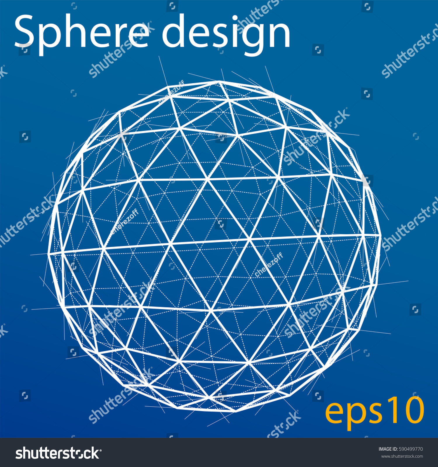 Blueprint sphere wireframe style 3d rendering vectores en stock blueprint of sphere wire frame style 3d rendering vector illustration eps10 format malvernweather Image collections