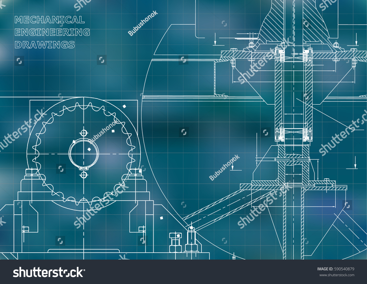Blueprints mechanical construction engineering for Engineering blueprints