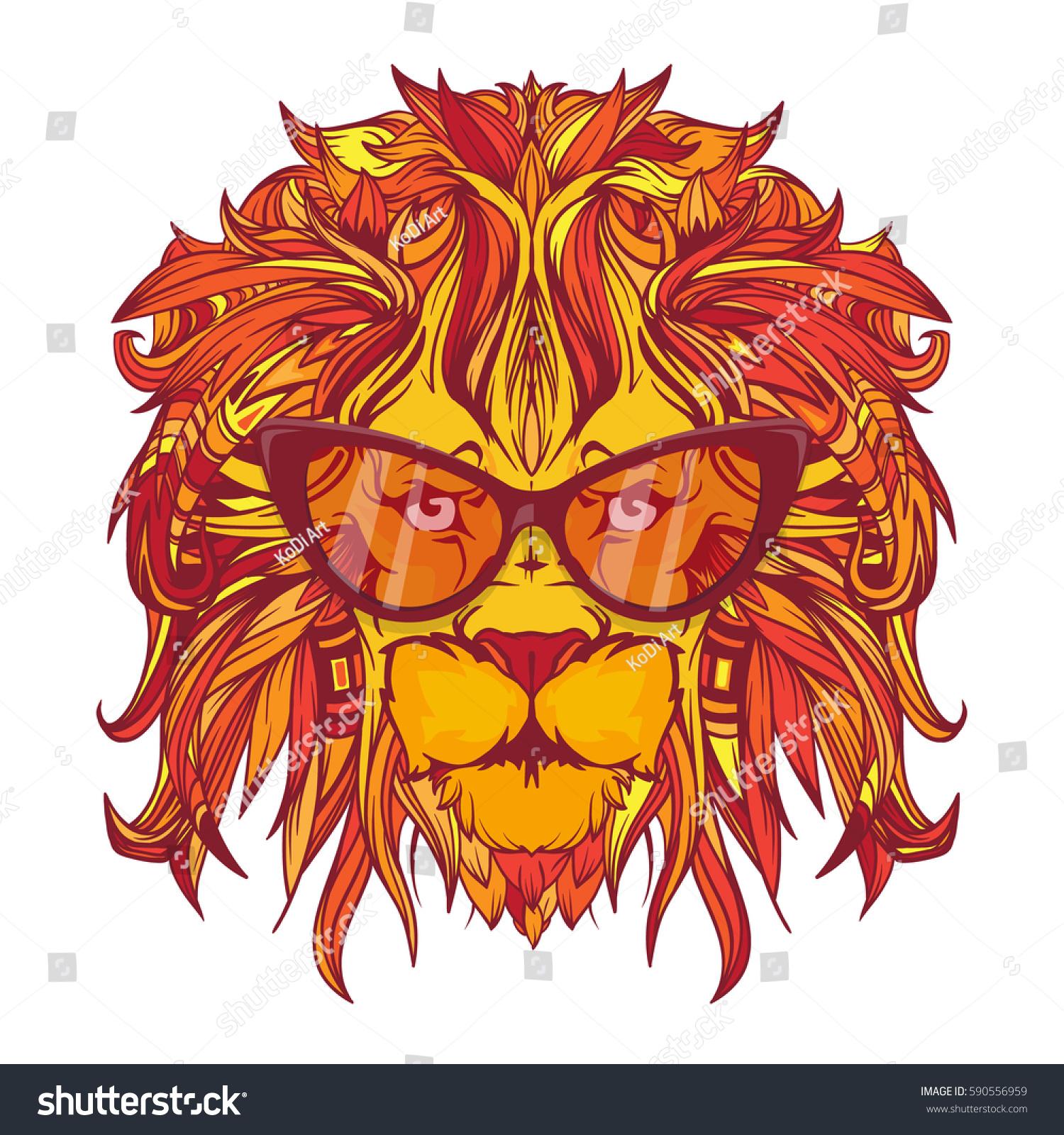 yellow lion logo - photo #40