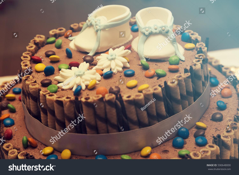 Chocolate Cake Baby Boy Birthday