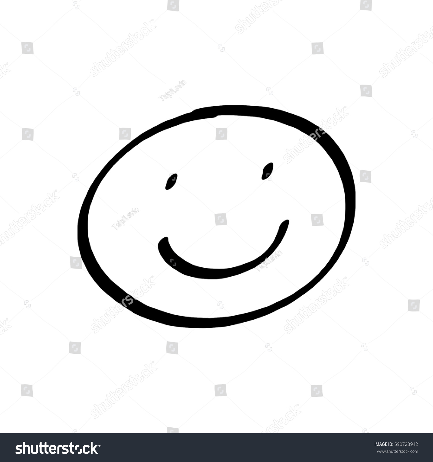 How to draw a smiley face
