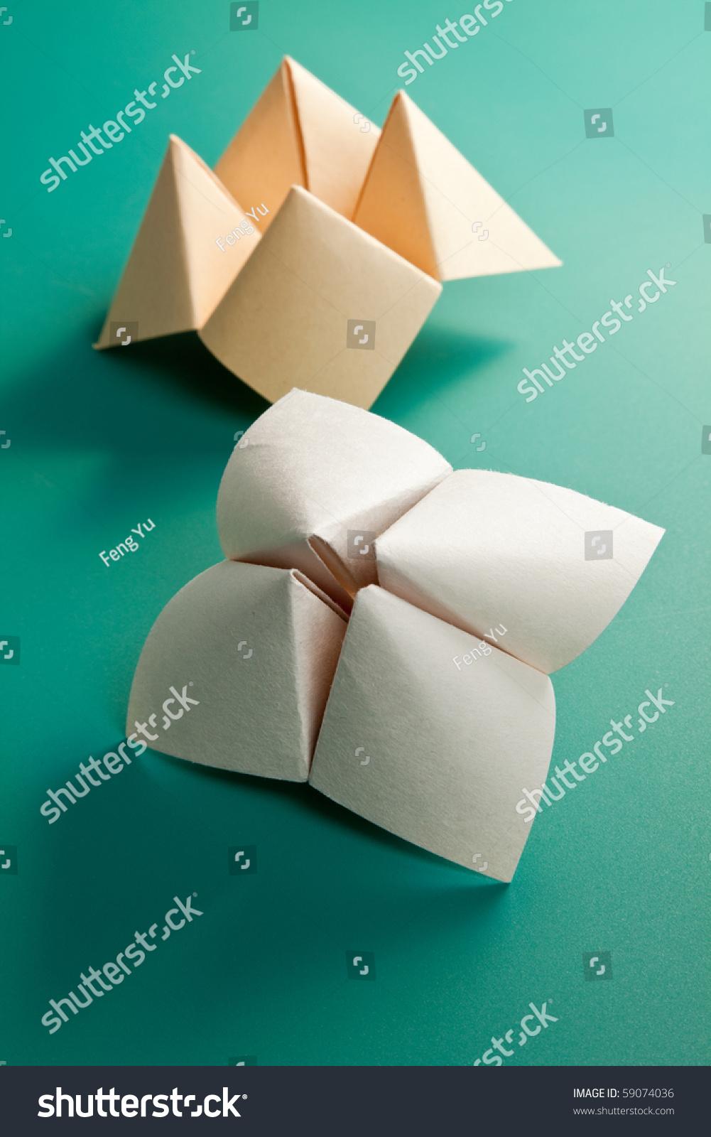 Поделка из бумаги считалка