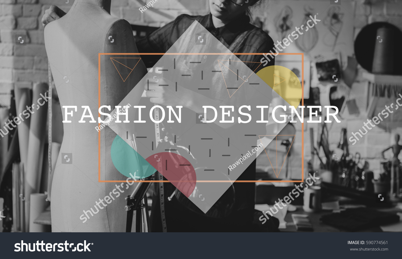 Design Fashion Creative Style Geometry Stock Photo Edit Now 590774561