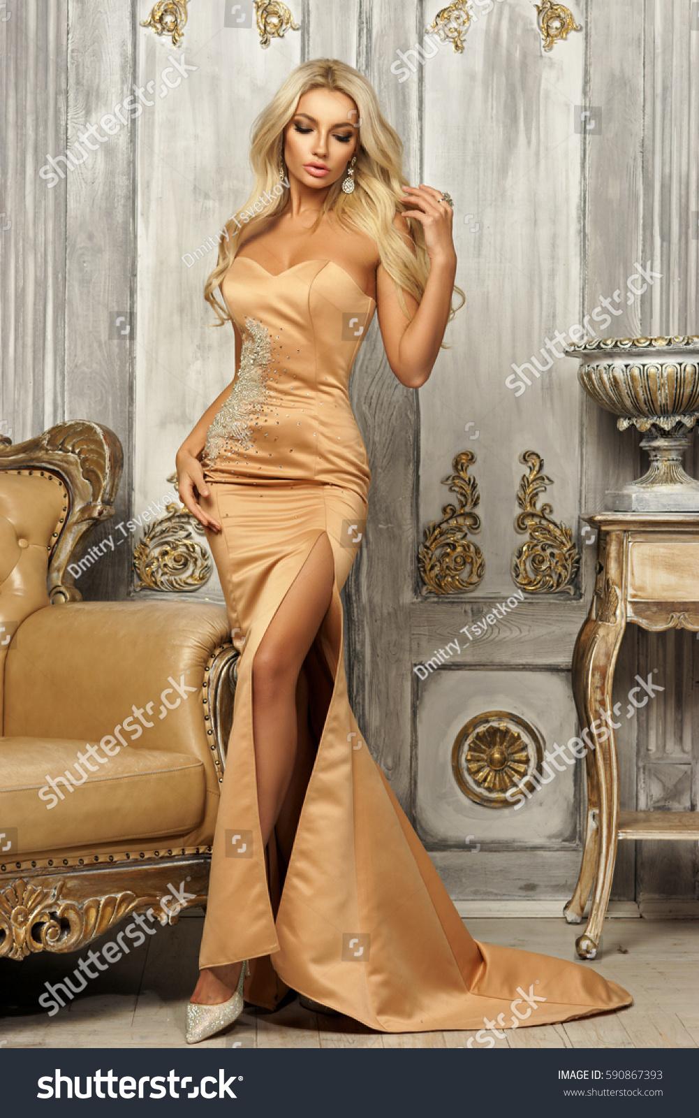 Blonde Gown