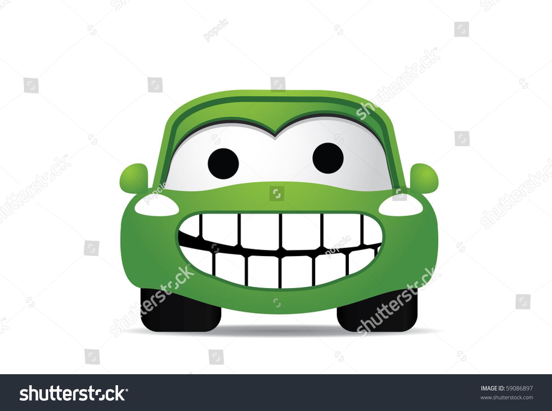 Eco Car Stock Vector 59086897 - Shutterstock