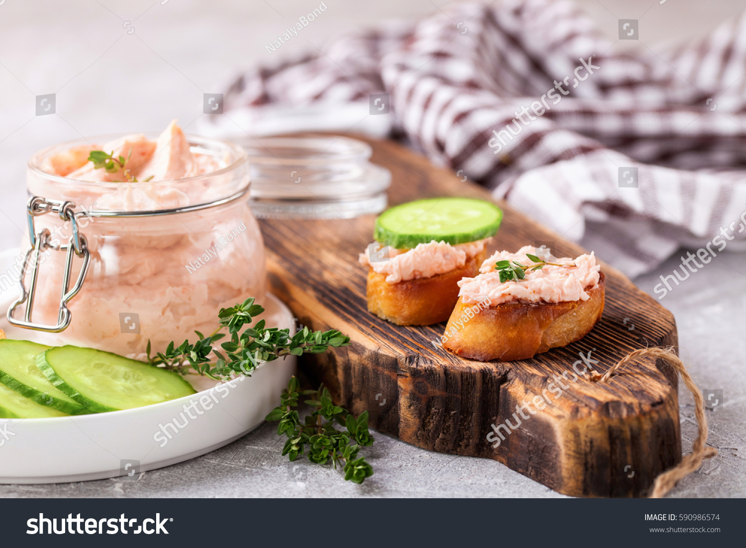 Cheese fish sauce dip salmon selective stock photo for Fish and cheese