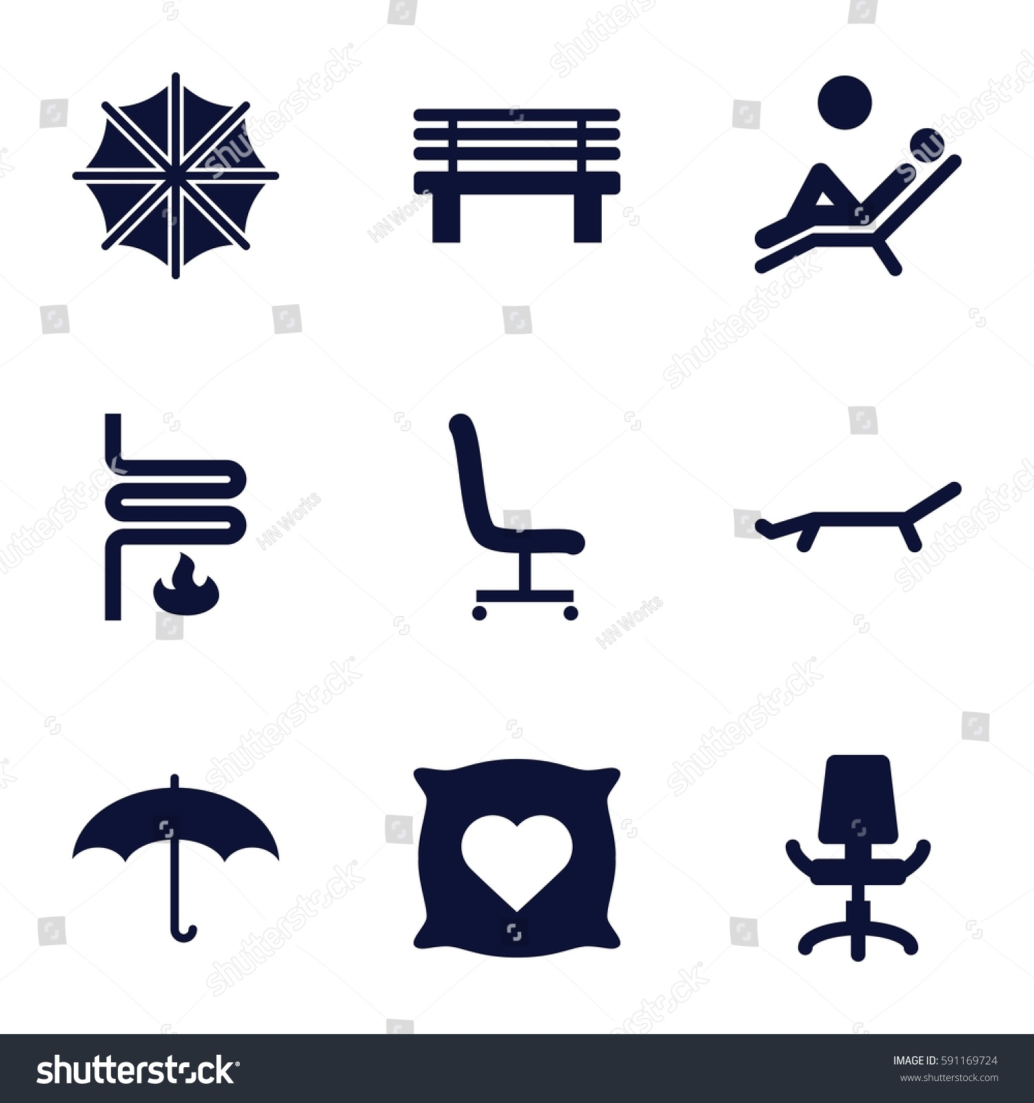 Comfort icons set set 9 comfort stock vector 591169724 shutterstock comfort icons set set of 9 comfort filled icons such as pillow with heart on biocorpaavc Images