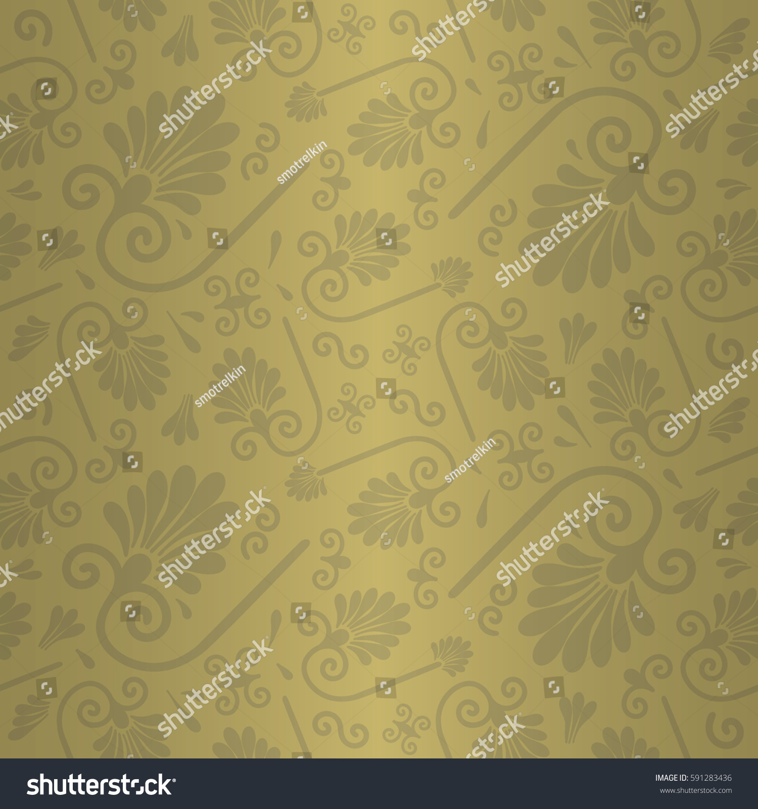 Soft Brown Yellow Beige Decorative Seamless Stock Vector ...
