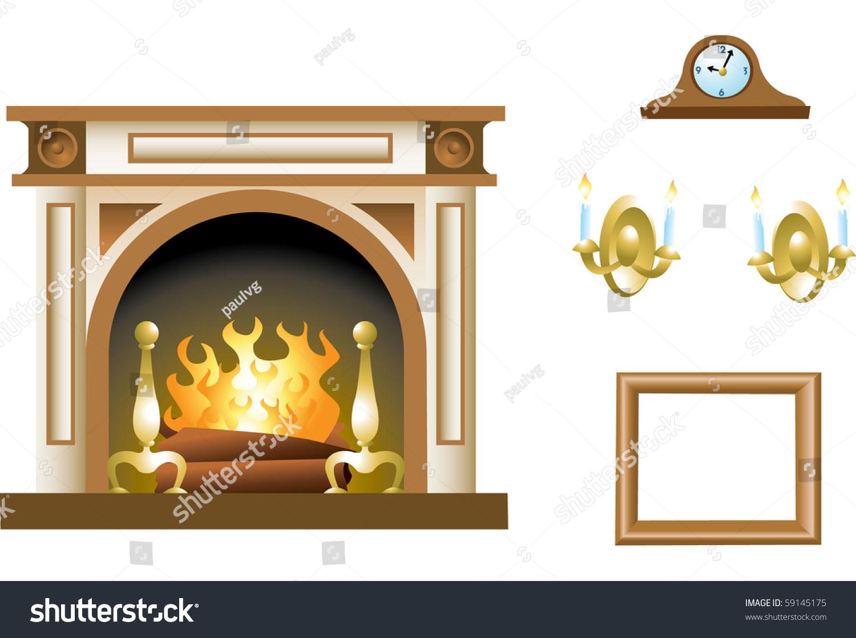 shaker fireplace mantel