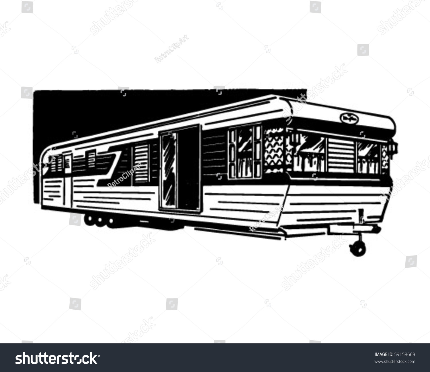 clipart mobile home - photo #11