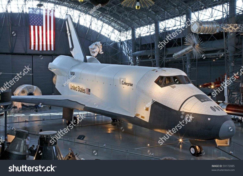 Chantilly, Virginia - August 15: Nasa'S Space Shuttle ...