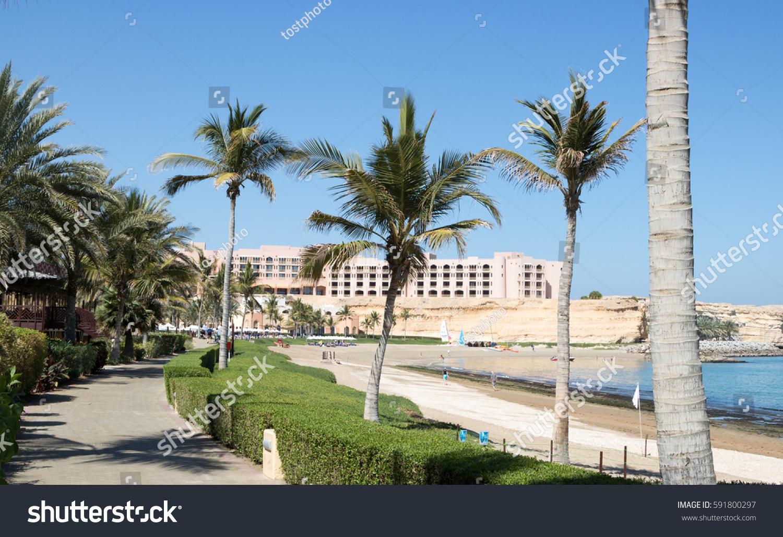 Luxury resort oman stock photo 591800297 shutterstock for Hotel luxury oman