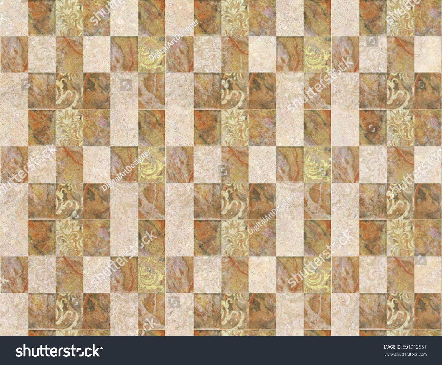 Colorful vintage ceramic tiles wall decorationdigital stock colorful vintage ceramic tiles wall decorationdigital tiles design dailygadgetfo Images
