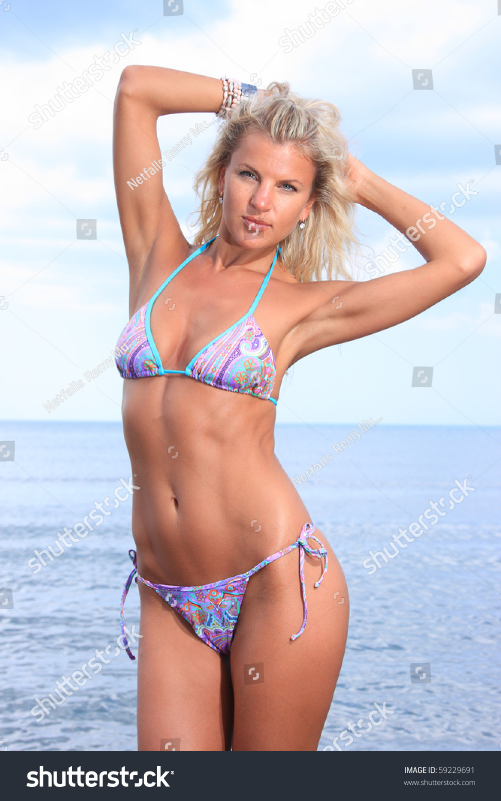 The guy Bikini in russian woman Love