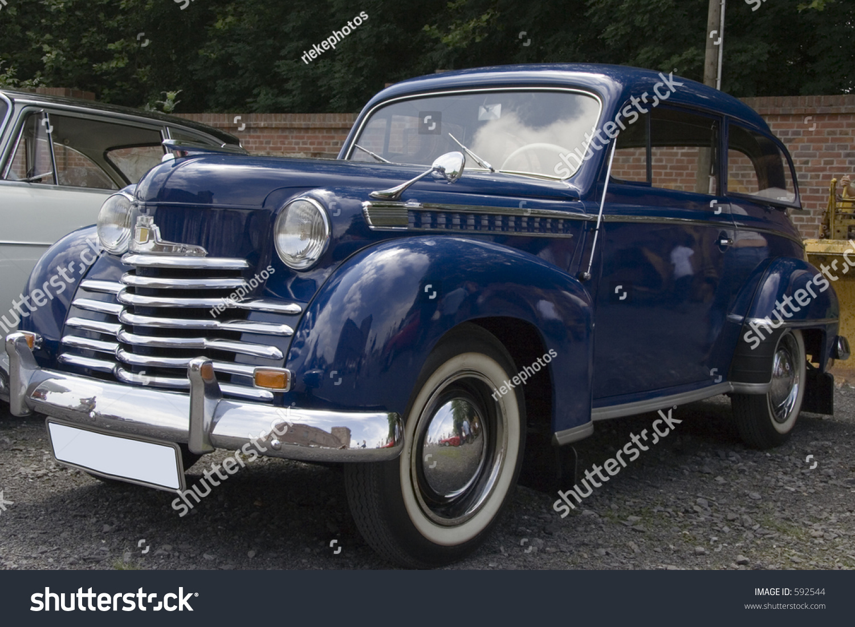 Vintage Rare Opel Olympia German Car Stock Photo (Royalty Free ...