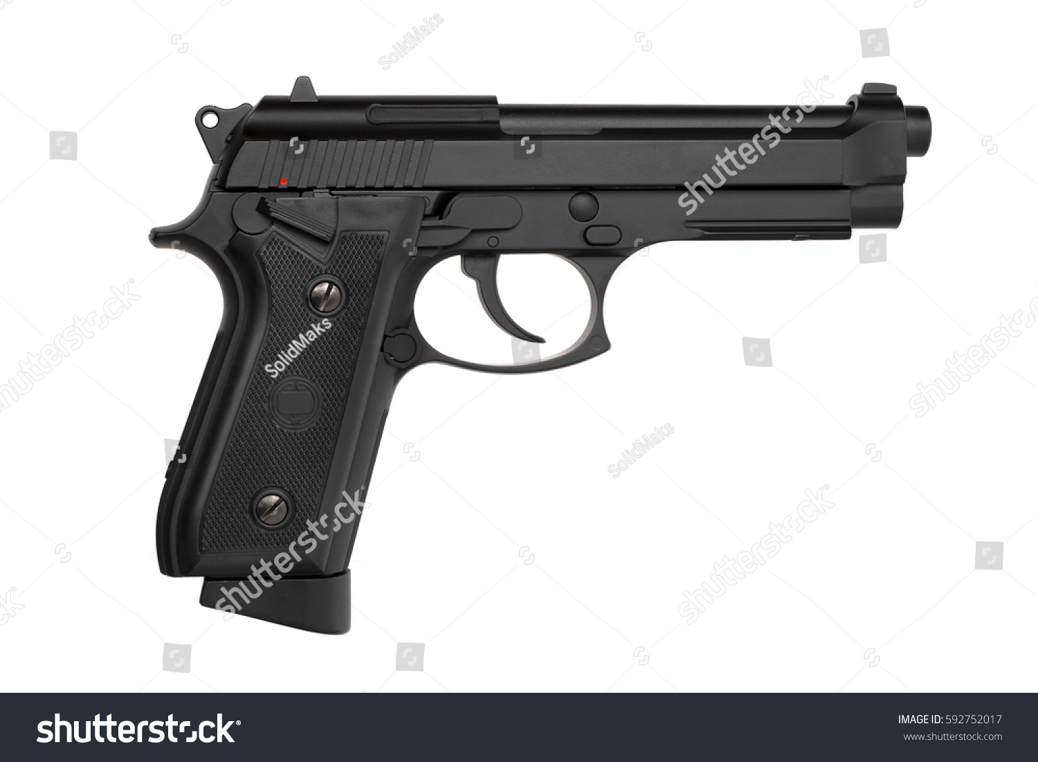 gun white background - photo #18