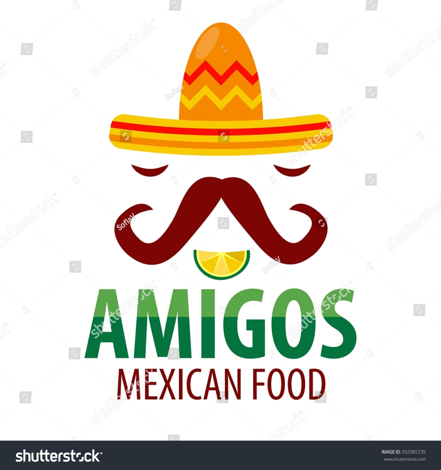 The gallery for mexican chef hat logo for Mexican logos pictures