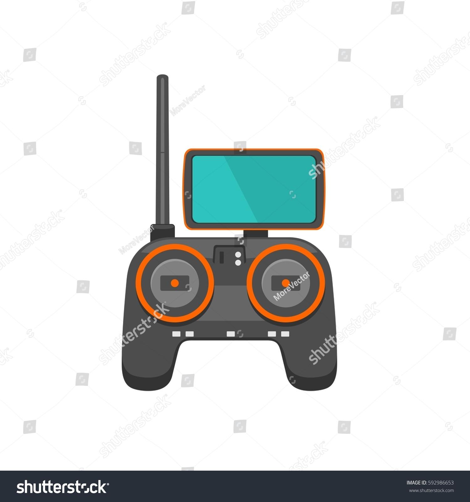 Phantom Icon Remote Control Drone Screen On Stock Vector 592986653 Micro