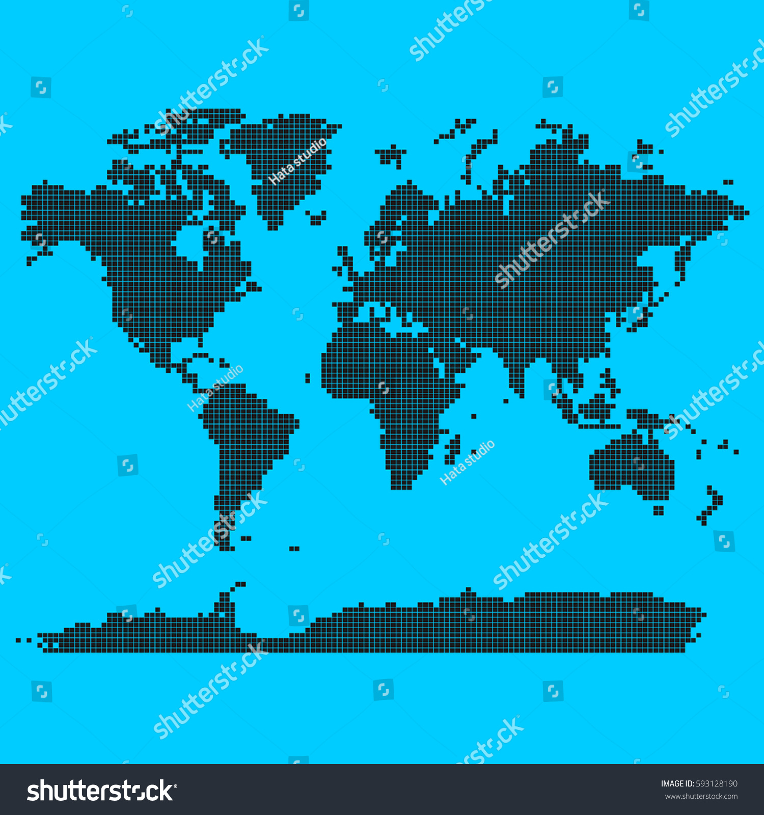 World map squares vector 5512 squares stock vector 593128190 world map in squares vector 5512 squares elements gumiabroncs Image collections