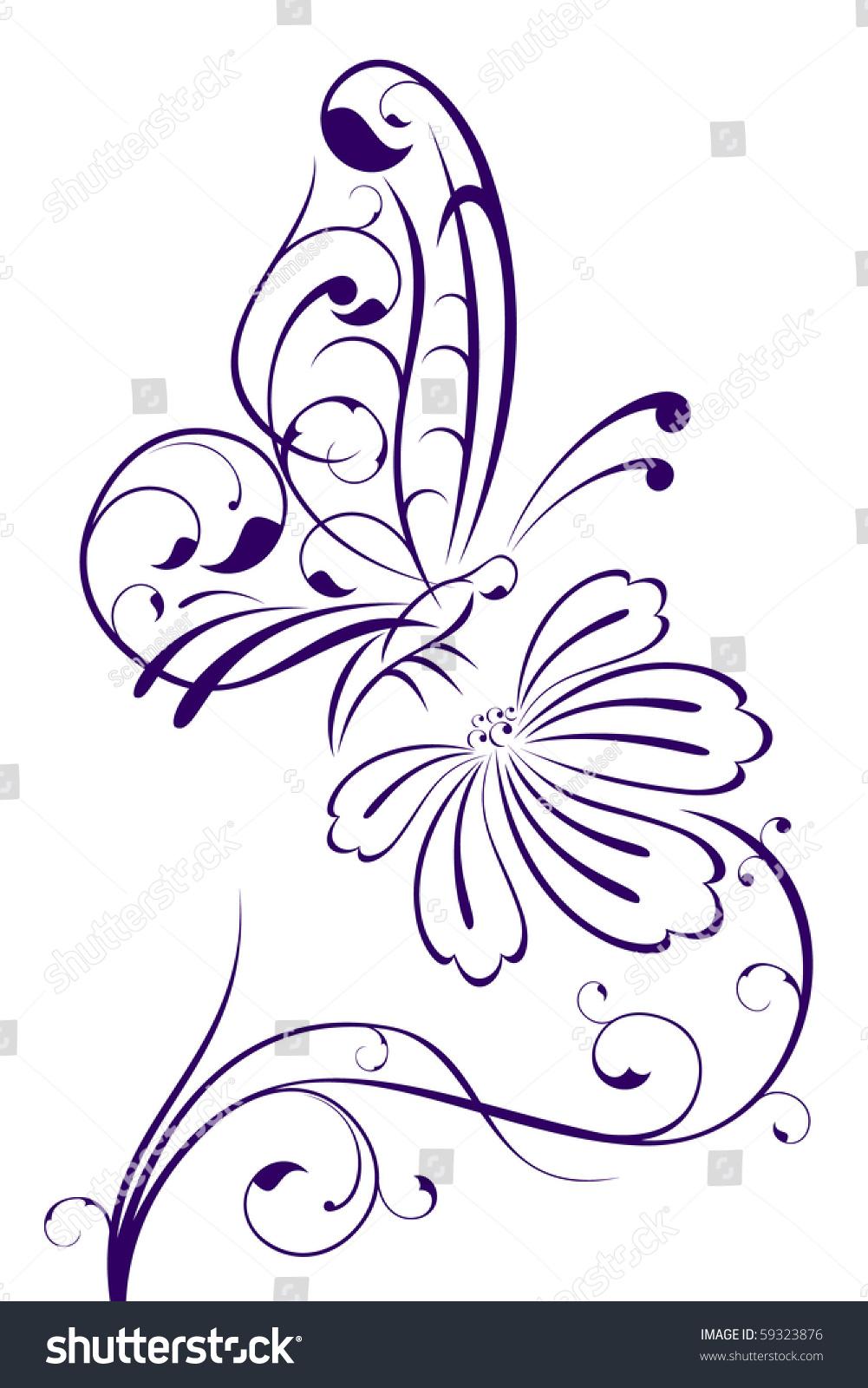 Бабочки для декора своими руками : из бумаги, объемные, трафареты 27