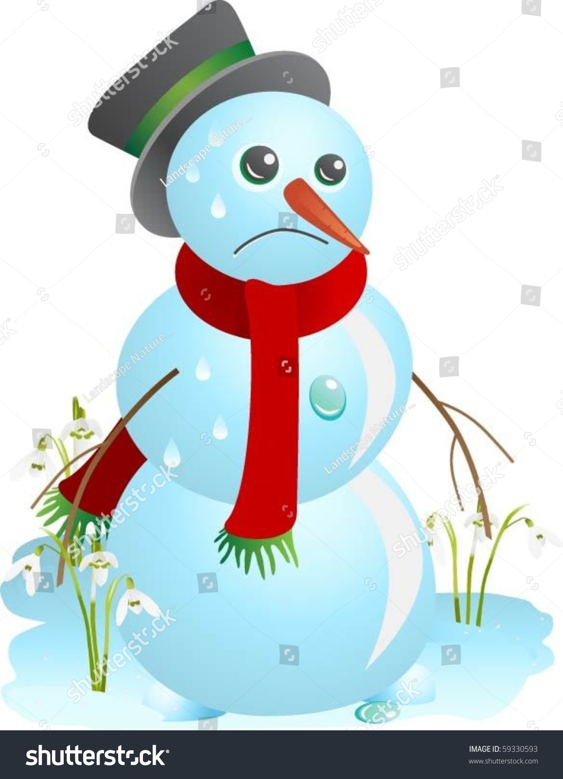Snowman Face Stock Photos - Download 5,079 Royalty Free Photos  |Sad Melting Snowman