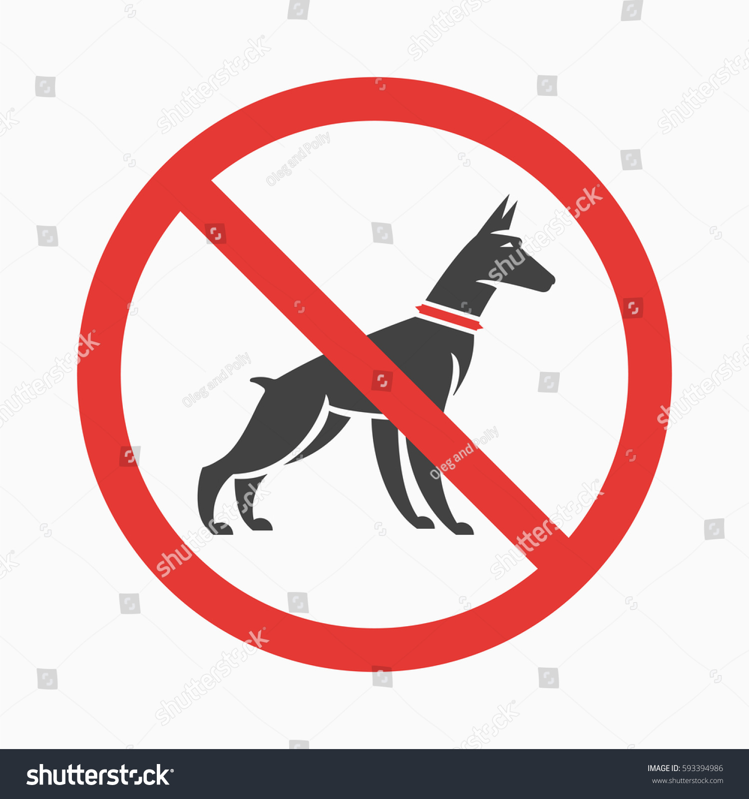 logo or information plate design for no pee no dog walking plates with doberman silhouette