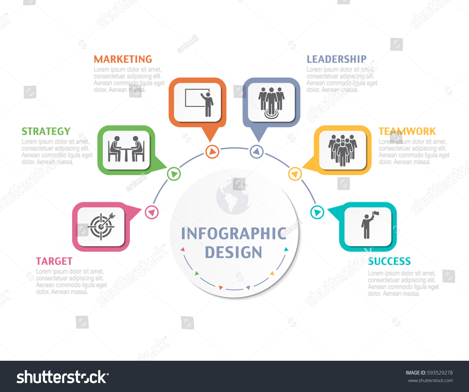 Abstract infographic number options business overview stock vector abstract infographic number options business overview visualization business template for presentation vector infographics accmission Choice Image