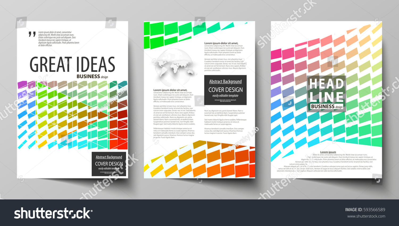business templates brochure magazine flyer annual stock vector 593566589 shutterstock. Black Bedroom Furniture Sets. Home Design Ideas