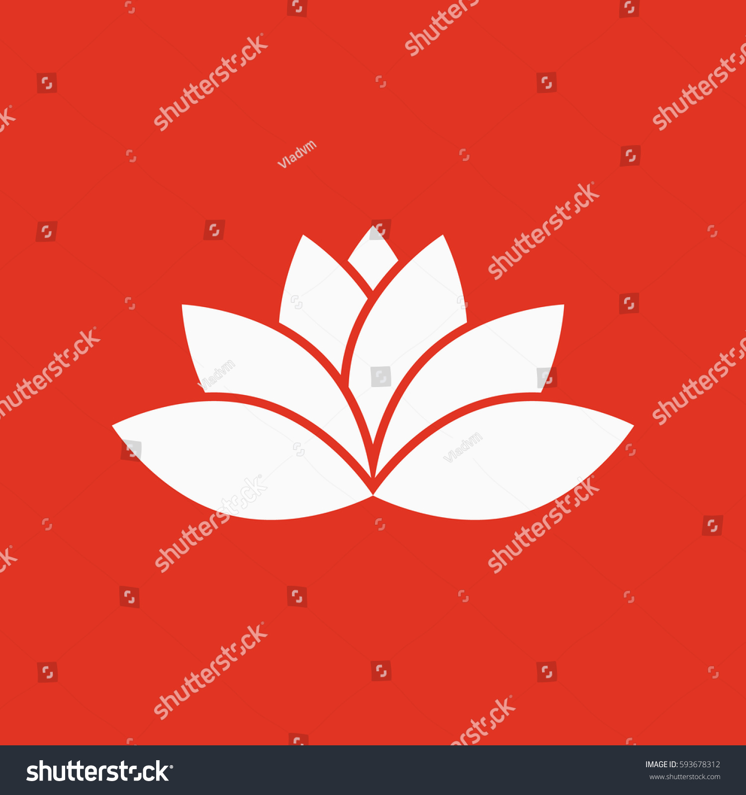Lotus icon lily flower lifestyle symbol stock vector 593678312 lily and flower lifestyle symbol flat design stock vector izmirmasajfo Choice Image