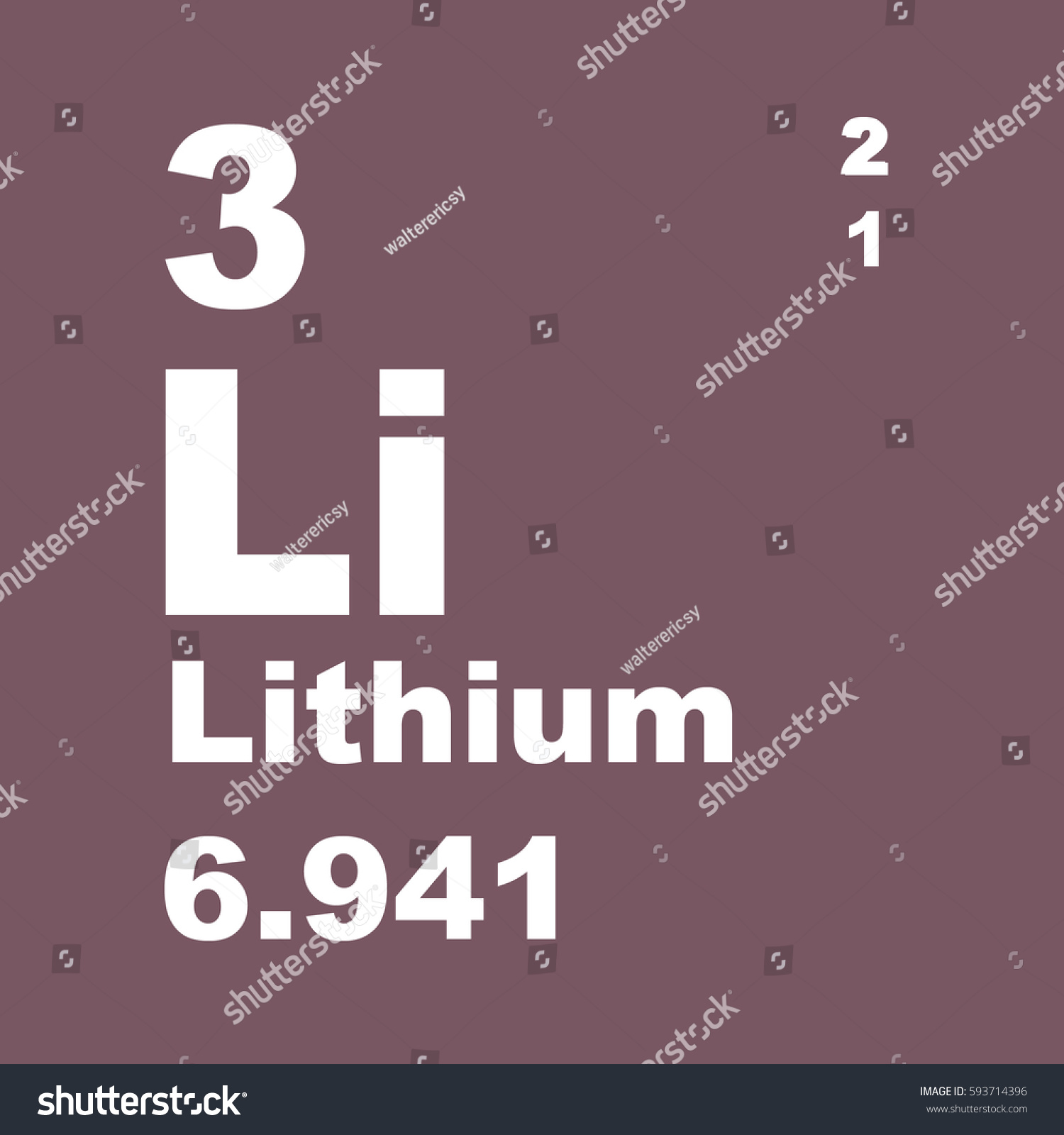 Periodic table of elements lithium image collections periodic lithium on periodic table images periodic table images lithium periodic table elements stock illustration 593714396 lithium gamestrikefo Image collections