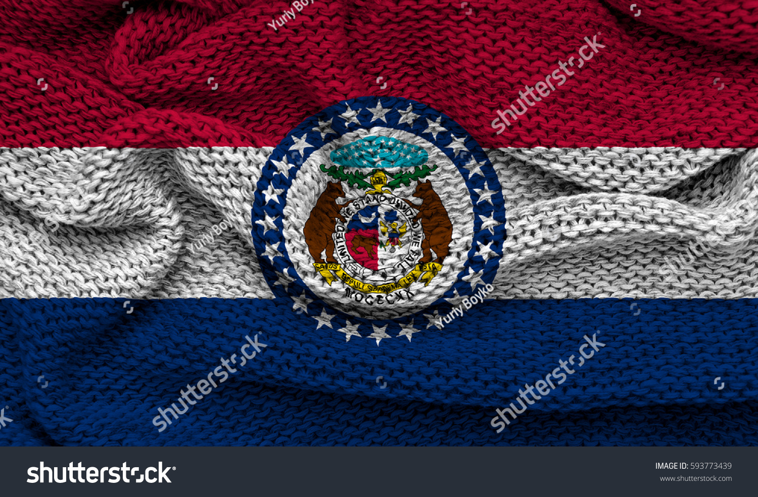 Flag missouri state usa stock illustration 593773439 shutterstock flag of missouri state usa buycottarizona