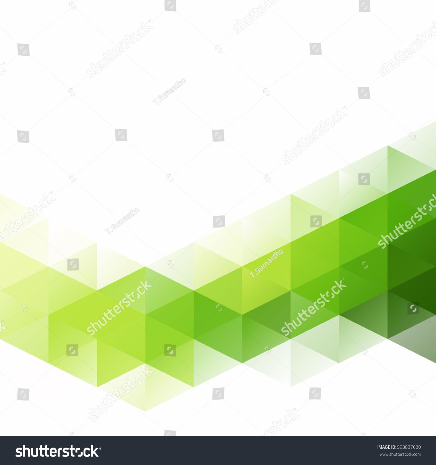 green grid mosaic background creative design のベクター画像素材