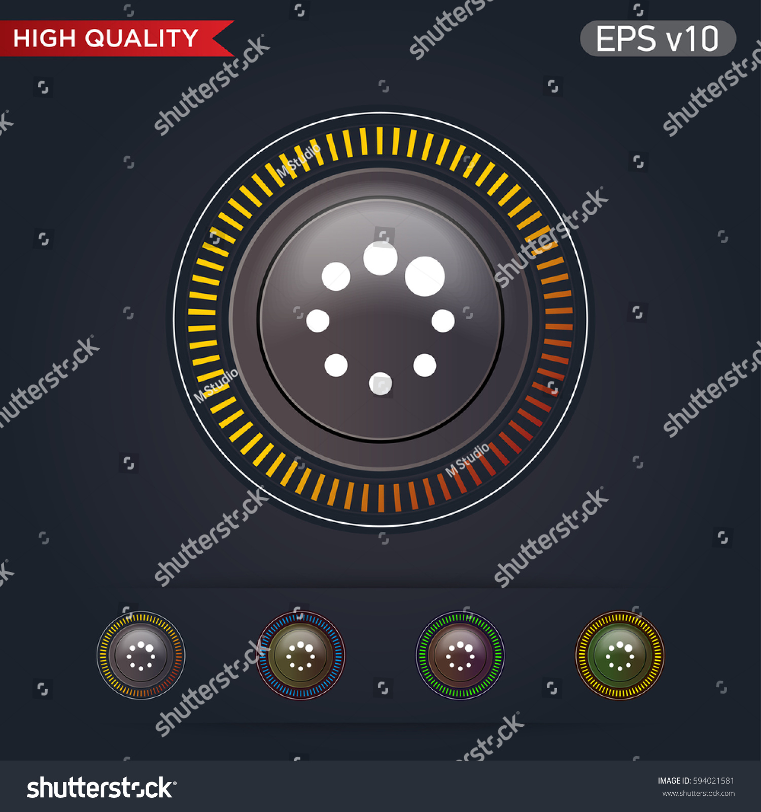Colored icon button loading symbol background stock vector colored icon or button of loading symbol with background biocorpaavc Image collections