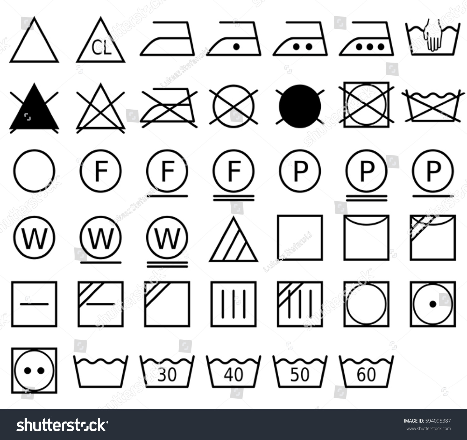 Laundry symbol called care symbol pictogram stock vector 594095387 a laundry symbol also called a care symbol is a pictogram which represents a biocorpaavc Image collections