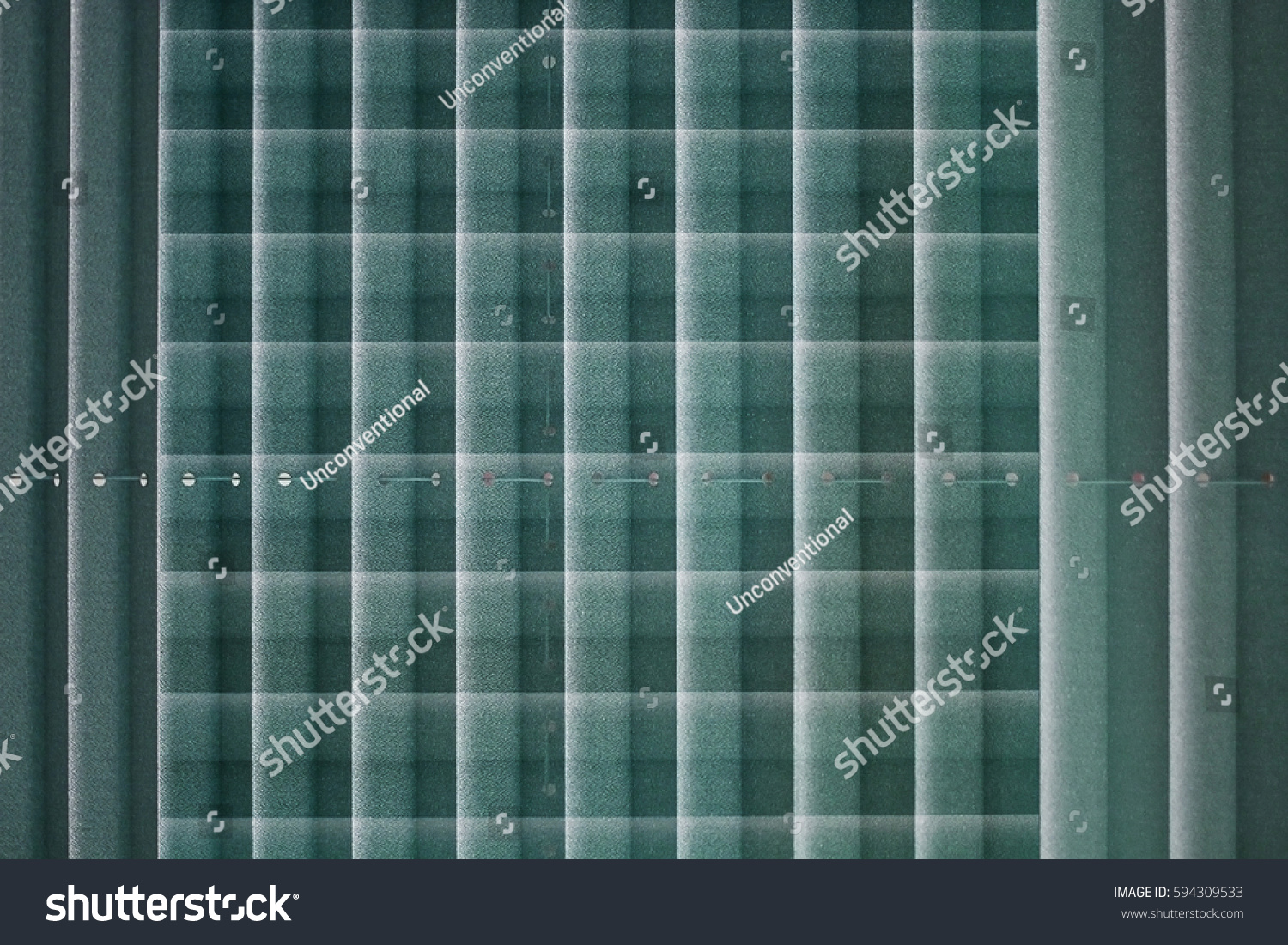 two layers louvers blinds jalousie teal stock photo 594309533 shutterstock. Black Bedroom Furniture Sets. Home Design Ideas