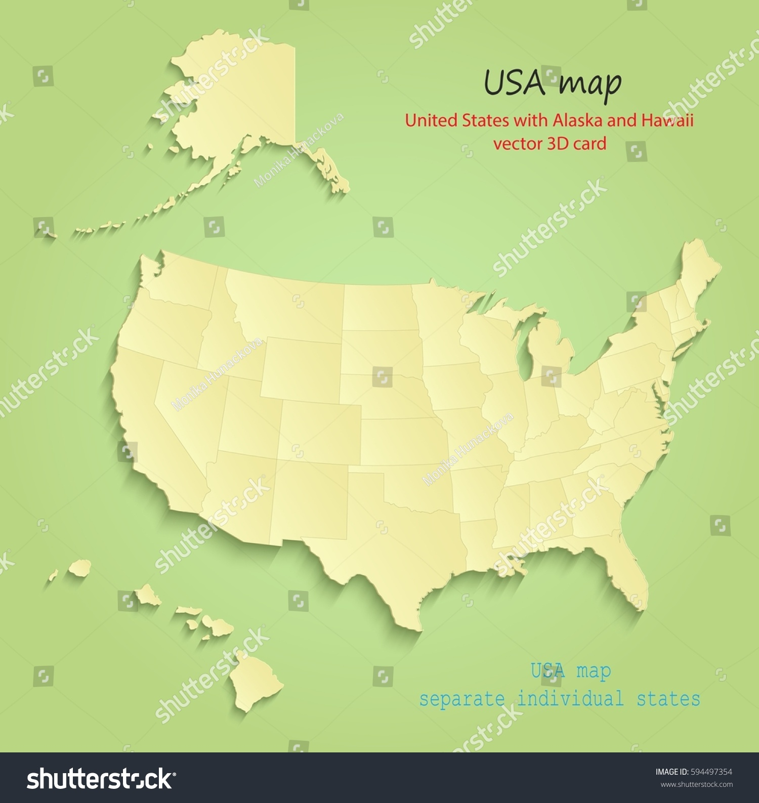 Map Of United States Showing Individual States - Blank us map noaa alaska