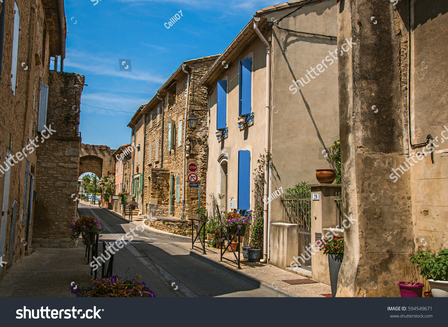 france july 02 2016 street view stock photo 594549671 shutterstock. Black Bedroom Furniture Sets. Home Design Ideas