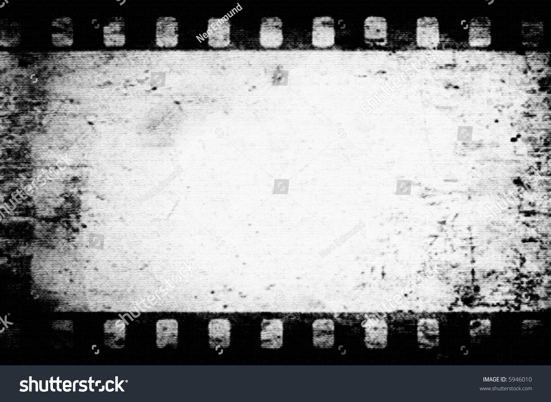 vector grunge film frame