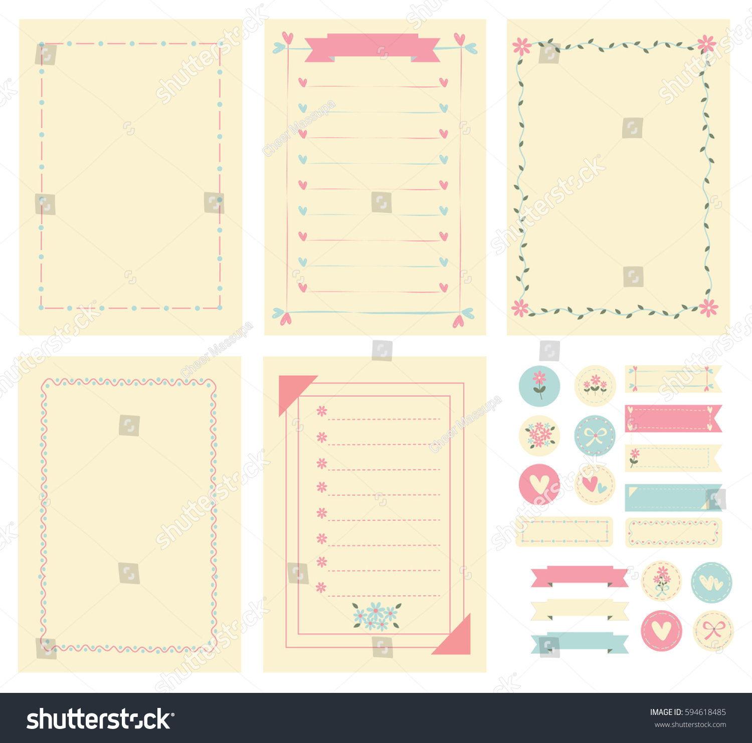 dle 30 mounting template - notebook paper template images template design ideas