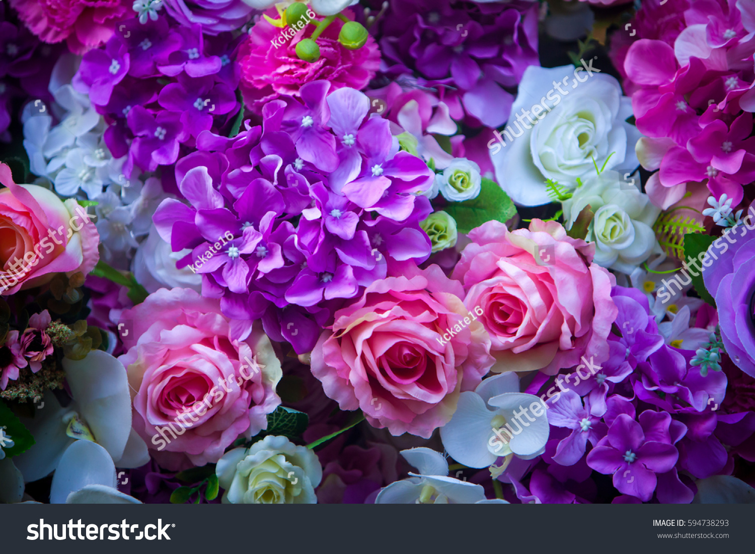 Beautiful wall made violet purple flowers stock photo edit now beautiful wall made of violet purple flowers roses valentines day background beautiful flowers izmirmasajfo