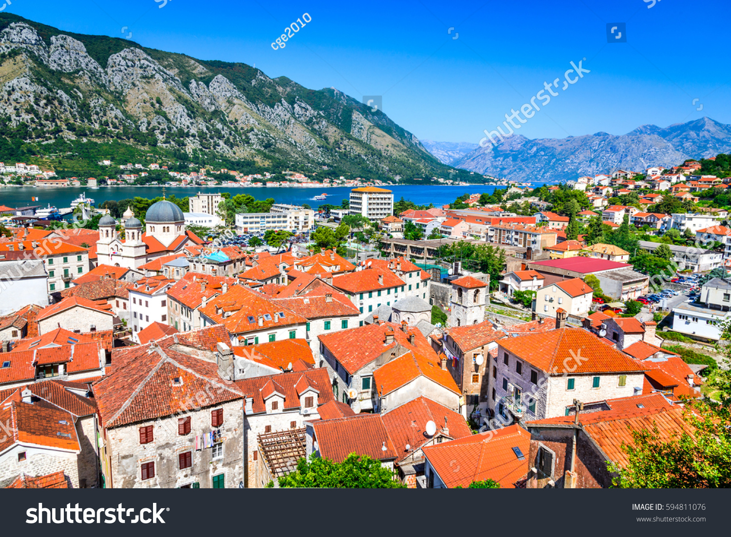 The most beautiful city in Montenegro